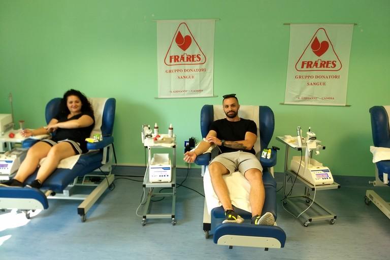 ASSOCIAZIONE FRATRES di Canosa- Donazione Sangue