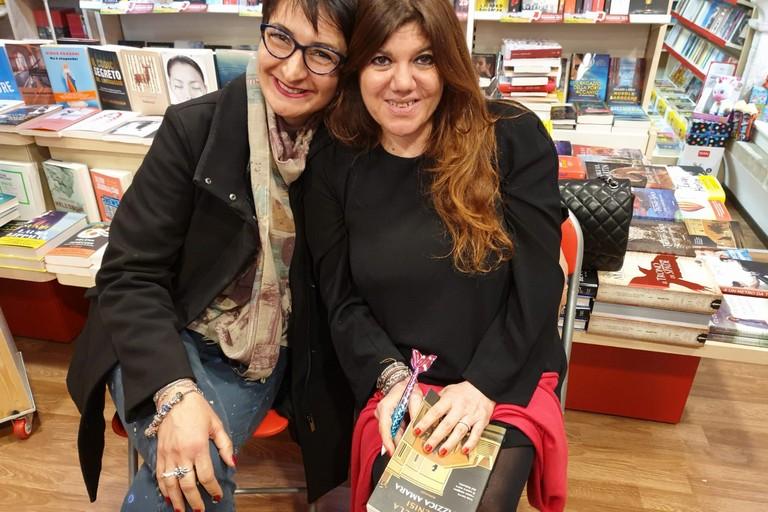 Luciana Fredella e Gabriella Genisi