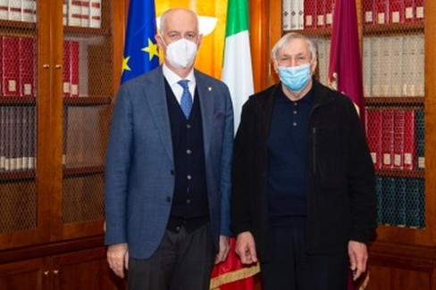 Gabrielli e Don Ciotti