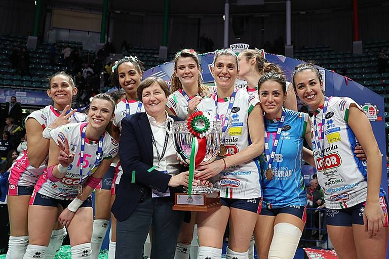 IGOR VOLLEY NOVARA   Coppa ITALIA 2018