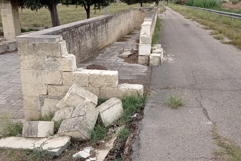 Devastazione del Tratturo Regio presso Bagnoli Canosa