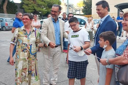 Inaugurazione street art di Piskv