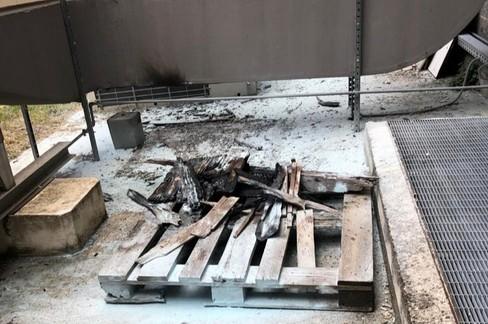 Incendio Ospedale Andria