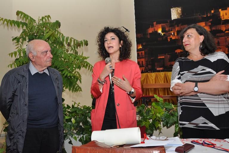 Premiazione Labarbuta - Trotta e Lenoci -