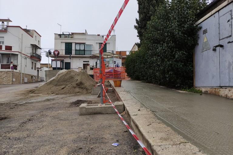 Canosa manutenzione strade