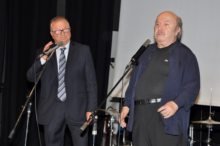 Lino Banfi e Salvatore Paulicelli