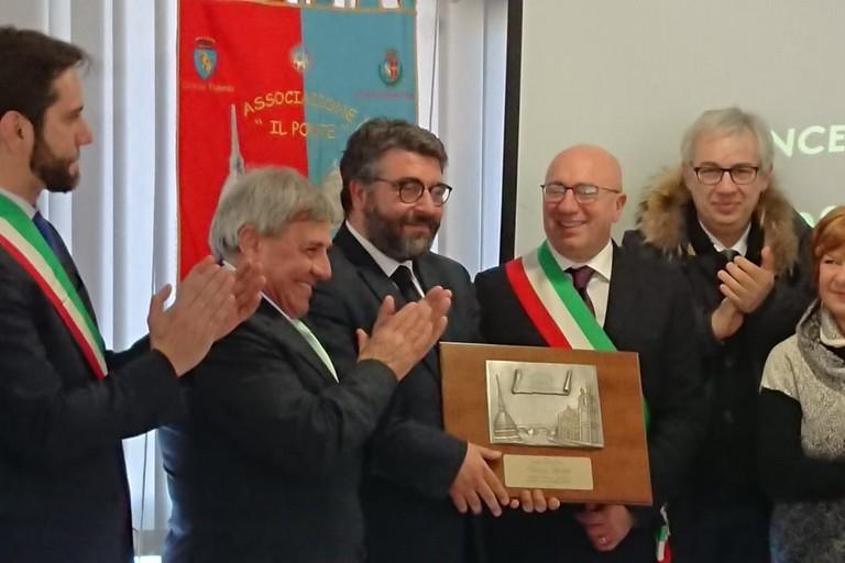 Torino Premiazione prof. Vincenzo Lionetti