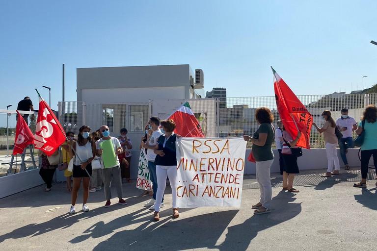 RSA Minervino manifestazione