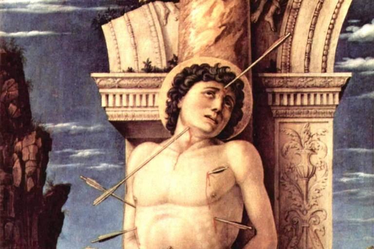 Mantegna San Sebastiano