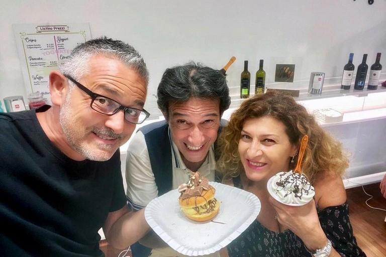 Sabino Matera Antonella Genga e Umberto Sardella