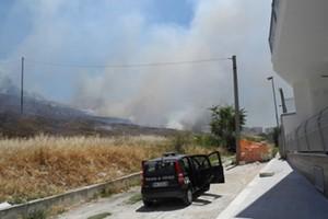 Incendio Canosa