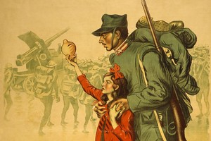 Manofesto Grande Guerra (Foto Peppino Di Nunno)