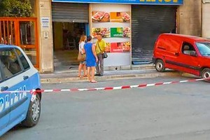 Attentato al supermercato