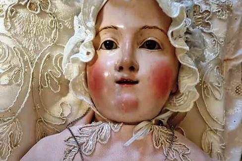 Canosa Madonna Bambina