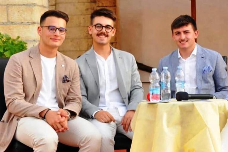 Nicola Sciannamea, Marco Lenoci  e Giandomenico Bucci