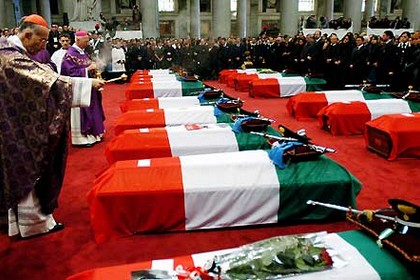 Funerali Martiri di Nassiriya