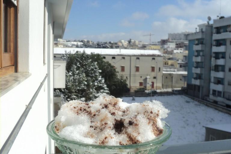 Canosa neve con vincotto