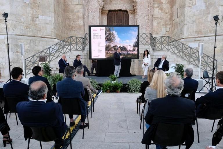 Presentazione progetto ospedale di Andria