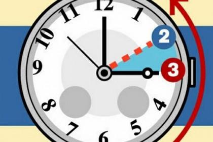 Orologio un ora indietro
