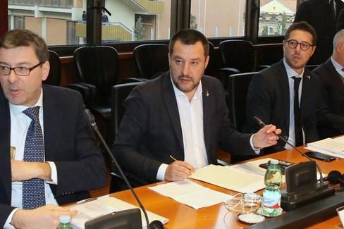 Salvini all'Osservatorio Nazionale sulle manifestazioni sportive