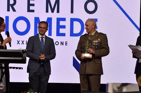 Tommaso Petroni Brigadiere Generale  Premio Diomede 2021