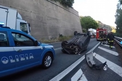 Polizia Stradale Incidente