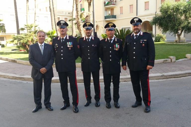 Premiazione arma dei Carabinieri