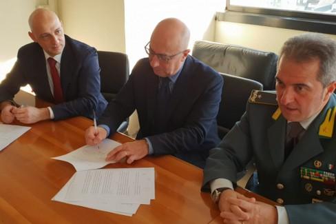 Protocollo Agenzia Entrate GdF Comune di Canosa