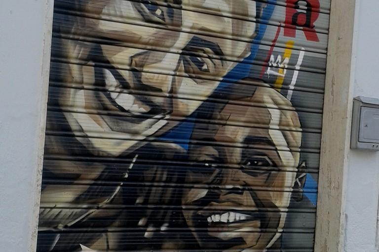 A Silvia Romano: Street Art di Piskv