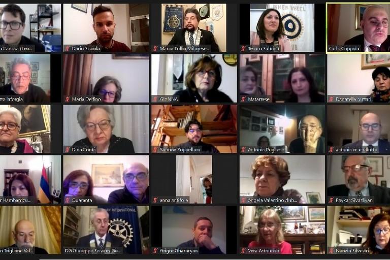 Rotary Club Canosa - conferenza Armenia
