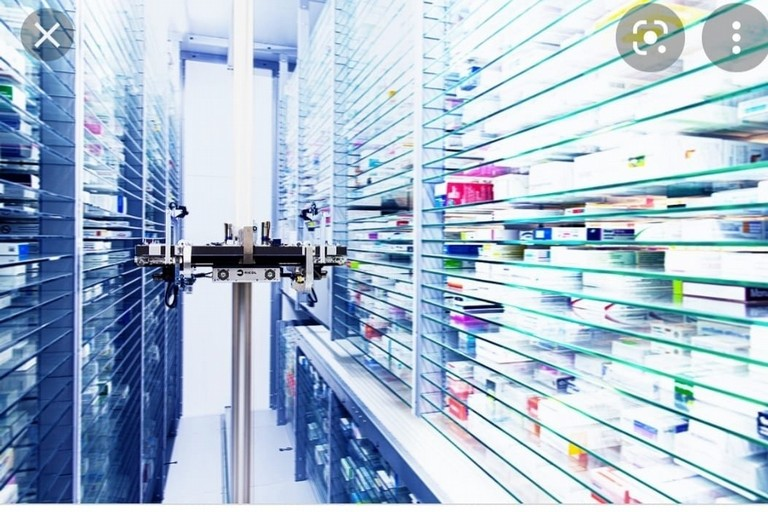 Robot Farmacia Lombardi