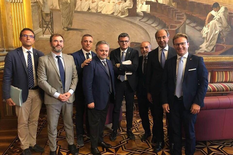 Ventola, Rossi, Damiani, Giorgino,Mazzilli