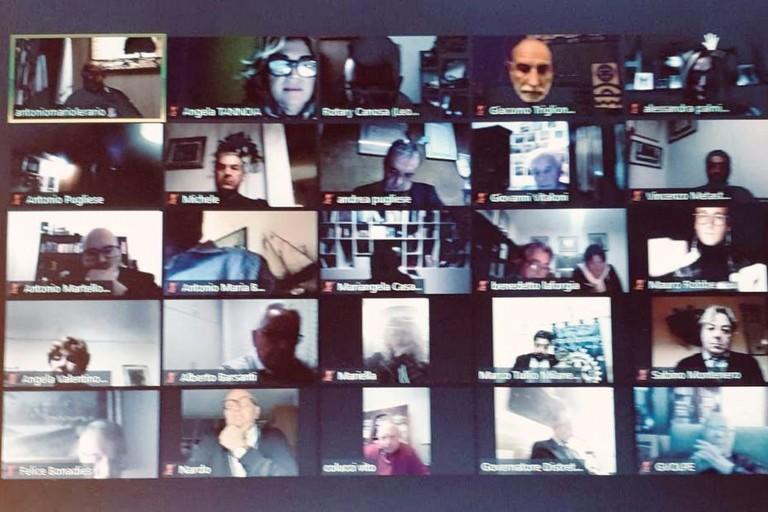 Rotary e la Protezione Civile videoconferenza