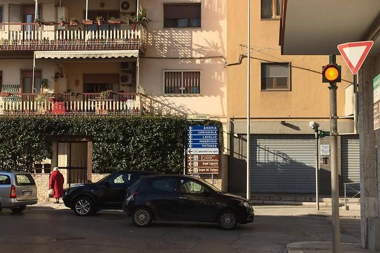 Semaforo via Balilla - Corsica Canosa