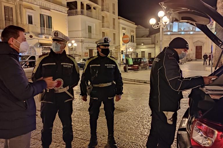Canosa Sindaco Morra -Polizia Locale