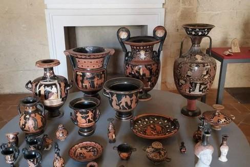 Reperti  archeologici rientrati in Italia