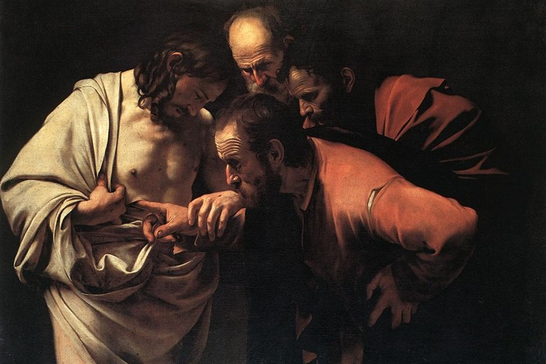Apostolo Tommaso Caravaggio