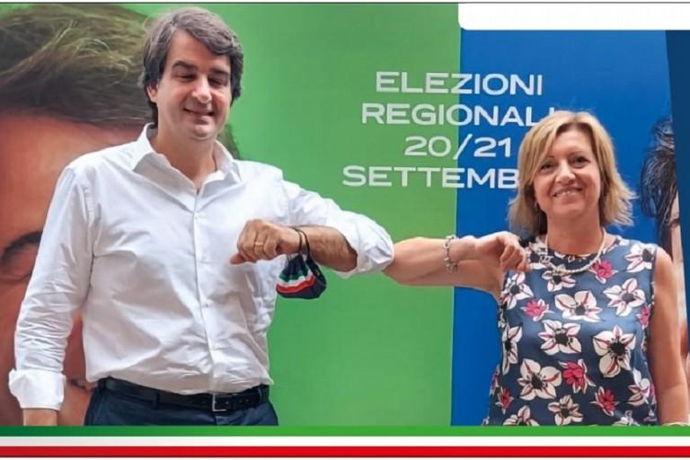 Raffaele Fitto e Tonia Spina